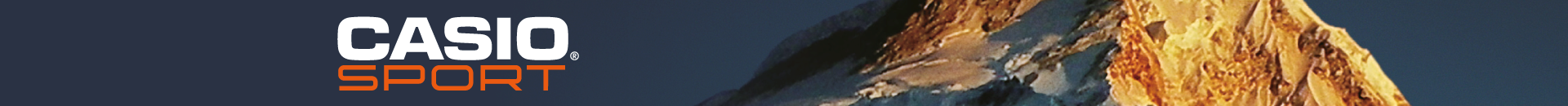 Casio Sport Gear Banner