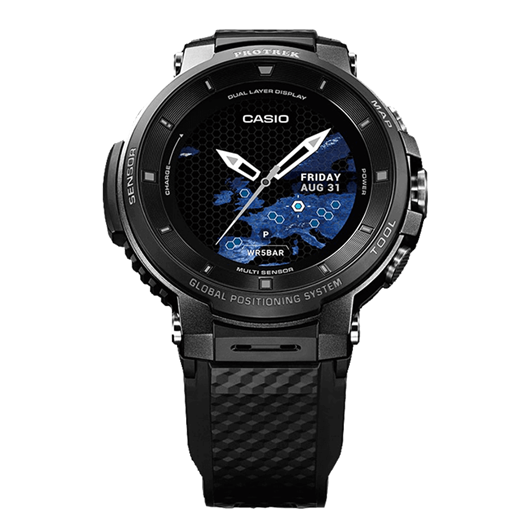 Picture of B-Grade Casio Protrek WSD-F30-BKAAB Smartwatch