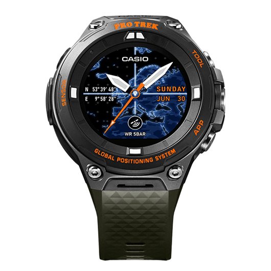 Picture of B-Grade Casio Protrek WSD-F20A-GNBAB Smartwatch