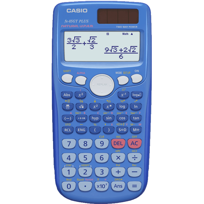 Casio scientific calculator fx-115n with sleeve & manual | ebay.