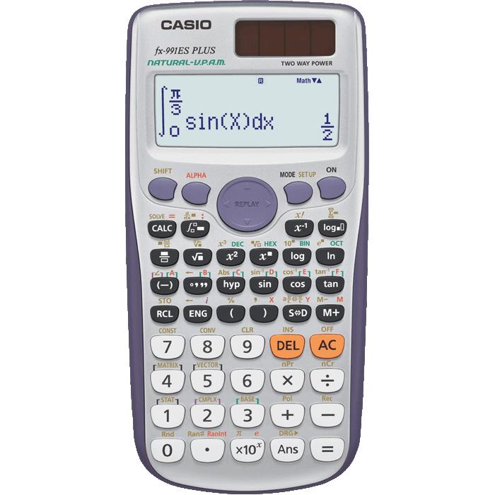 Calculator graphic casio.