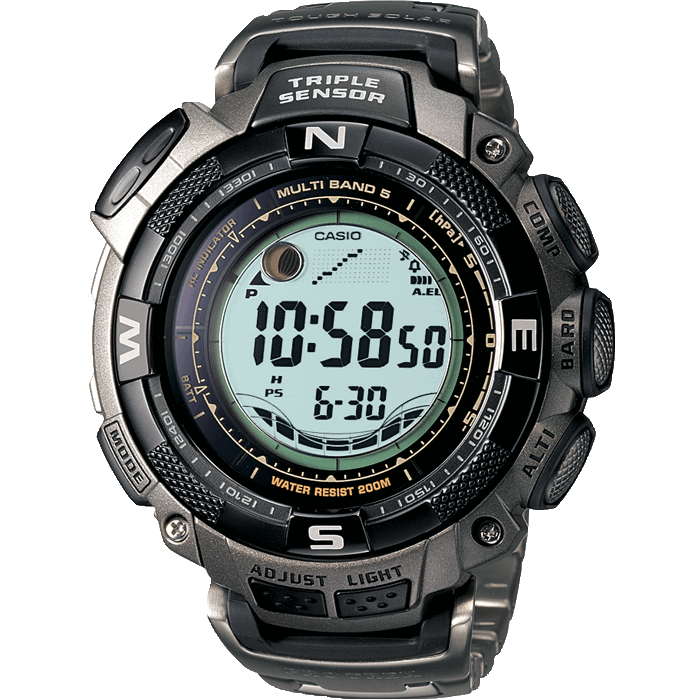 prw 1500t 7ver pro trek timepieces products casio rh casio co uk Casio Pathfinder Manual 2805 Casio Pathfinder Triple Sensor Watch