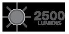 2500 Lumens
